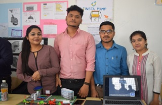 Orgnanised on 27th November the autumn semester skill exhibition witnessed more than 220 models, innovative products and business ideas across all the departments of JIS University. Among the judges was Mr. Indranil Sarkar, member of the CII Innovation club, Dr. Gautam Das, Big Data Analyst, accomplished academicians and researchers, across the departments. The Autumn SkillX 2018 was a grand success like every semester. Around 220 projects across 10 departments were showcased by our beloved students.